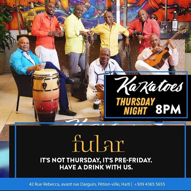 Dancing With Haitians At La Fete De >> Fubar Haiti On Twitter This Thursday Kakatoes Will Take To Our