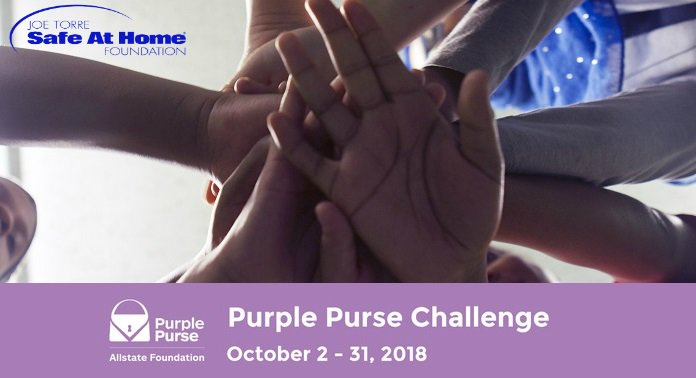 The annual @AllstateFDN #purplepurse challenge begins today! Make a gift in honor of #dvawarenessmonth by Oct 31 to support our work bit.ly/jtpurplepurse