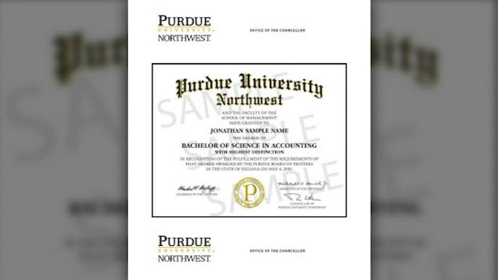 Abc 7 Chicago On Twitter Purdue Northwest Students Upset Diplomas
