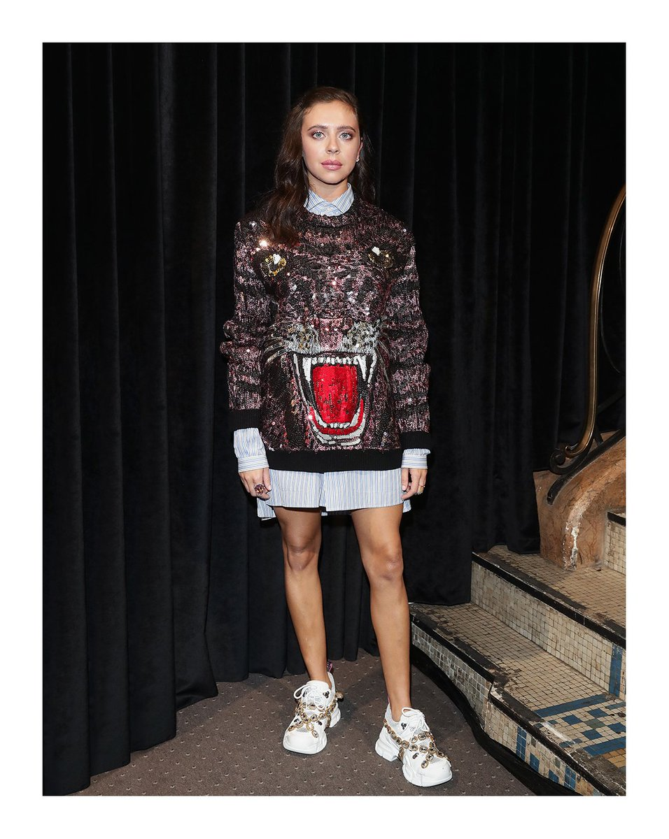 6908099fd49 and at the fashion show in paris wearing by . flashtrek gucci   sega ...