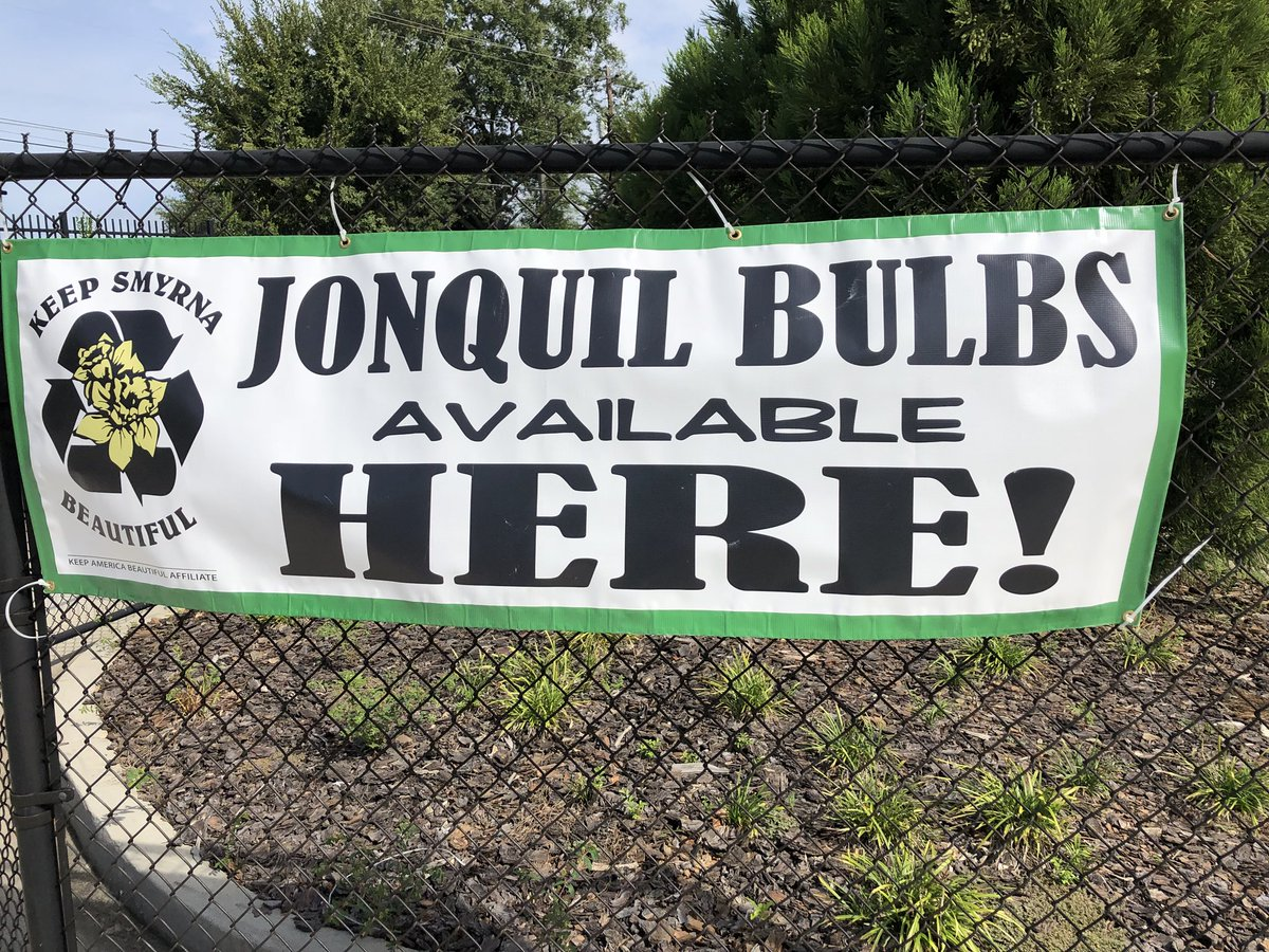 Roswell Recycling Center >> Keep Smyrna Beautiful On Twitter The Jonquil Bulb Sale