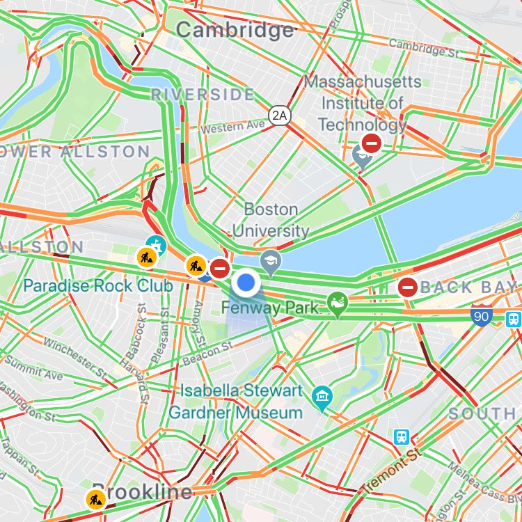 Traffic Map Boston.Develop3d Live On Twitter The Nightmare That Is Boston Morning