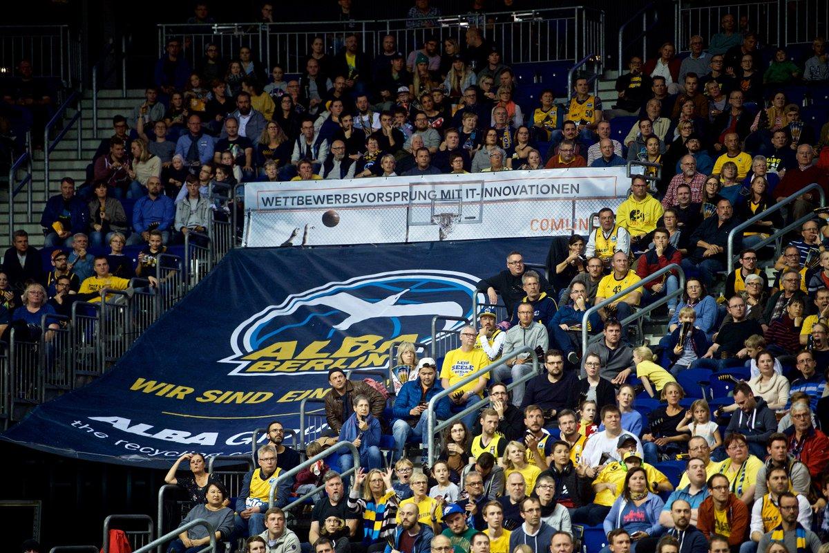 Wir gratulieren ALBA Berlin zum großartigen Auftaktsieg. Ein Sieg mit Wettbewerbsvorsprung. #alba #basketball https://t.co/XqRf082YWm
