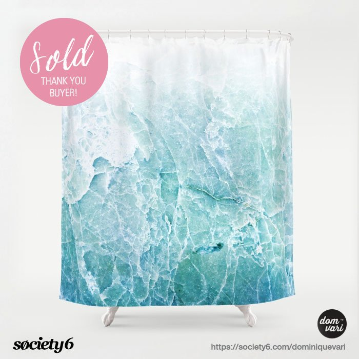 Thank You Buyer For Choosing The SEA DREAM MARBLE On Showercurtain Decor Bathroomdecors Showercurtains Homesweethome Marble Marbleart Sealover