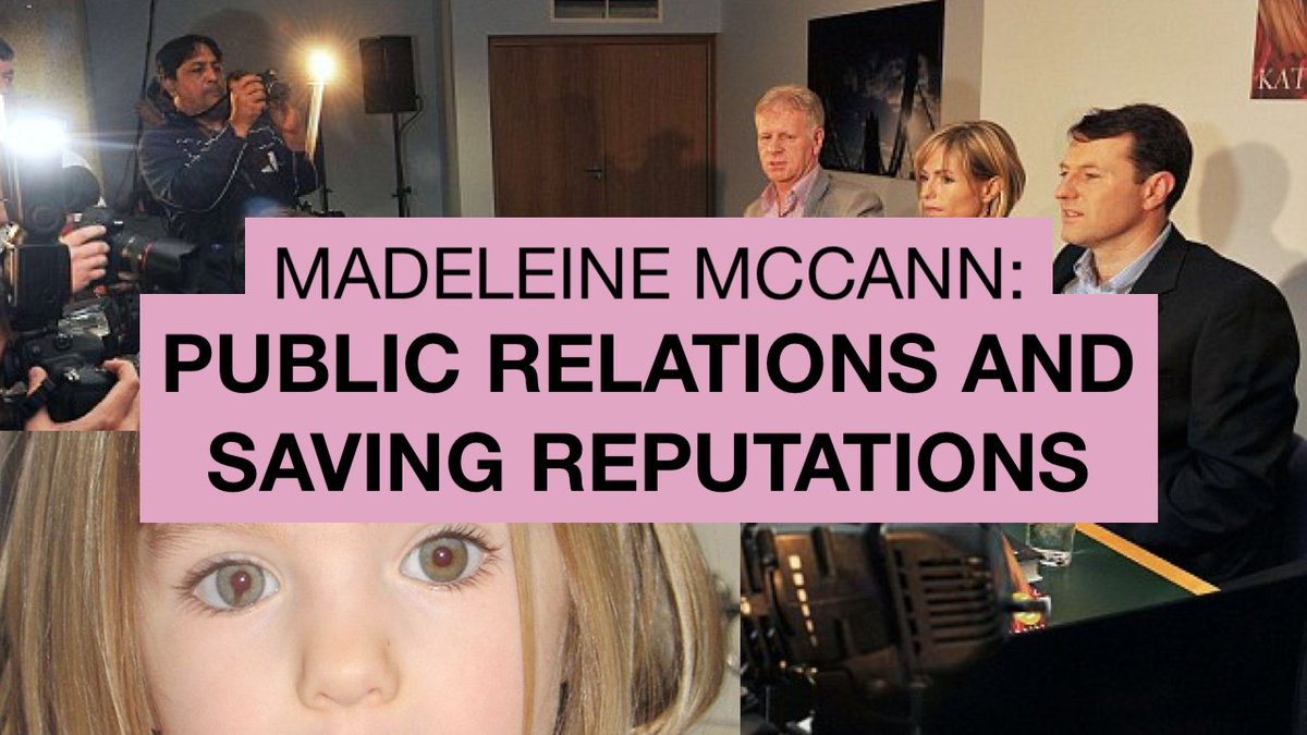 NEW VIDEO ADDED 2.10.18 - 'Madeleine McCann: Public Relations & Saving Reputations' - Sonia Poulton DogYHnQXoAEG_BL