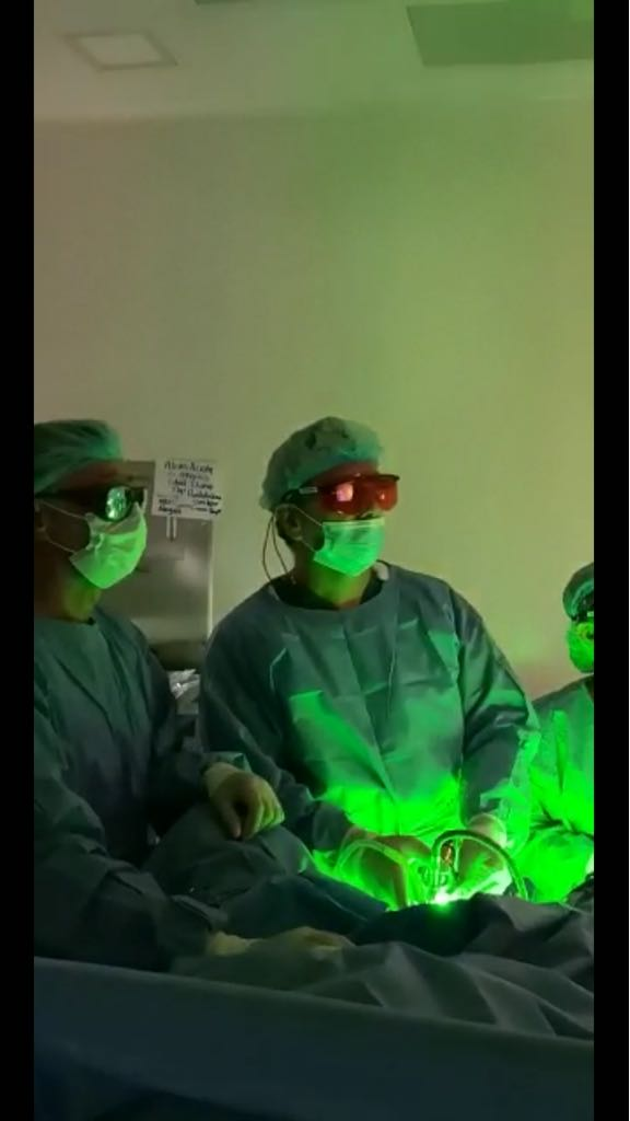 cirugía de ablación con láser para próstata