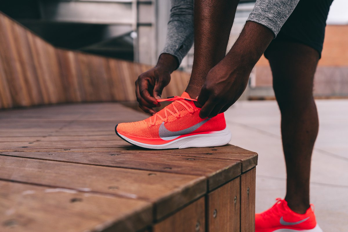 f99b01ee9df95 The fastest shoe on the planet is coming to the Distance Lab on 10 4.  Here s everything you need to know about buying the Nike Zoom Vaporfly 4%  Flyknit. ...