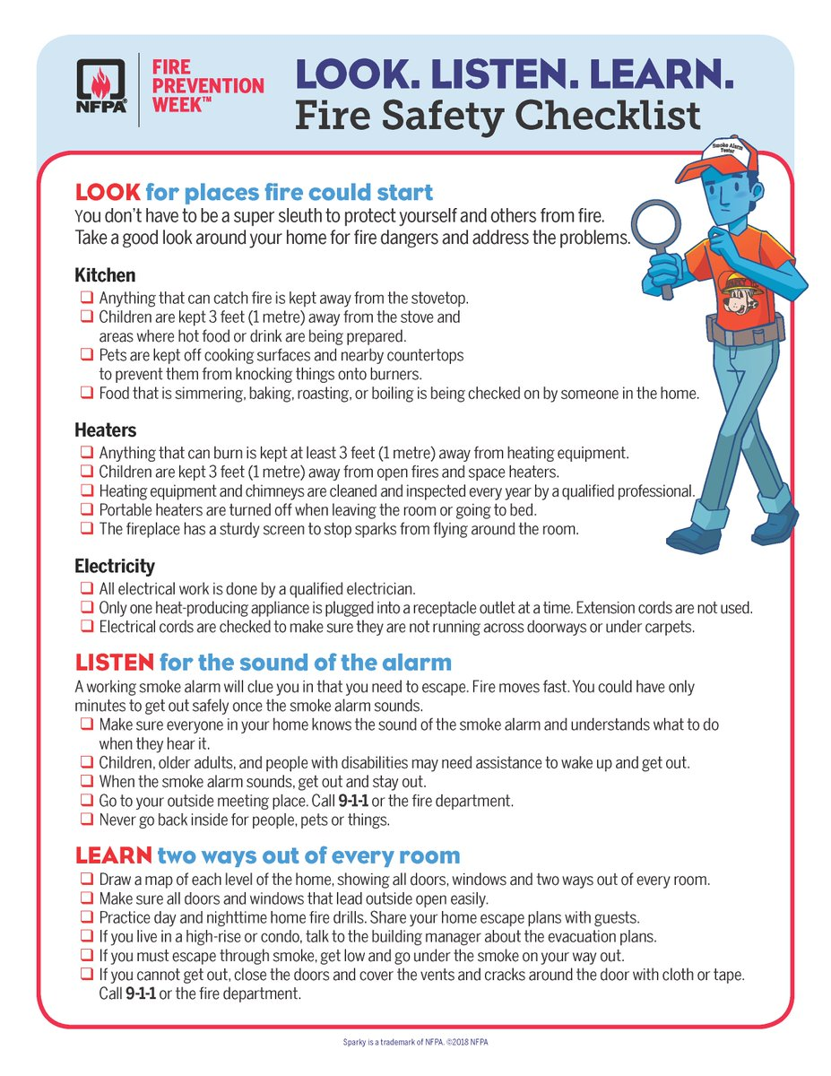 Omaha Fire Dept On Twitter Is Your Family Prepared Take Some Time Can Electrical Outlets Protect Against A House To Go Through This Safety Checklist In Home Good Look Around For