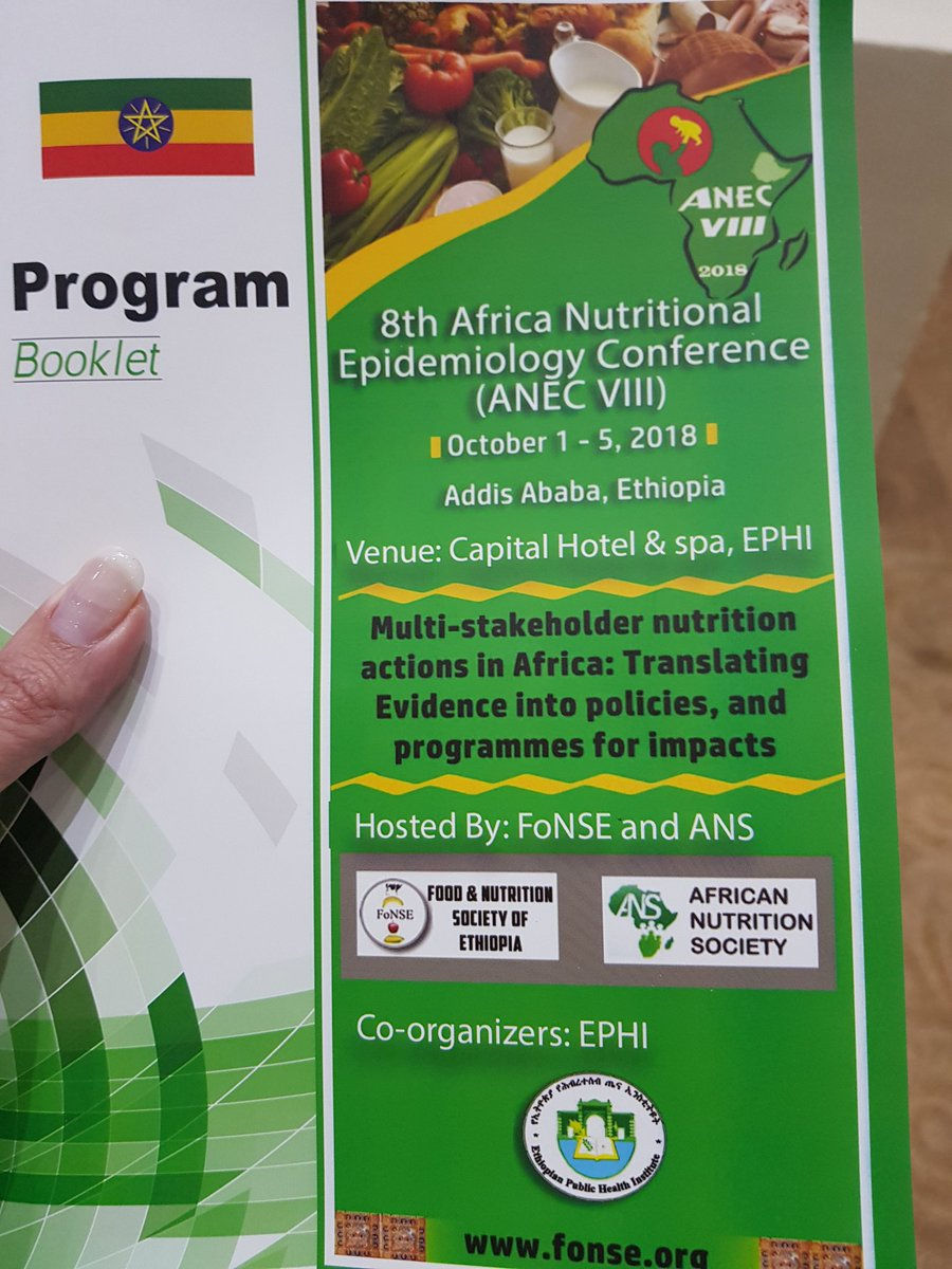 The 8th Africa Nutritional Epidemiology Conference (ANEC VIII 2018)