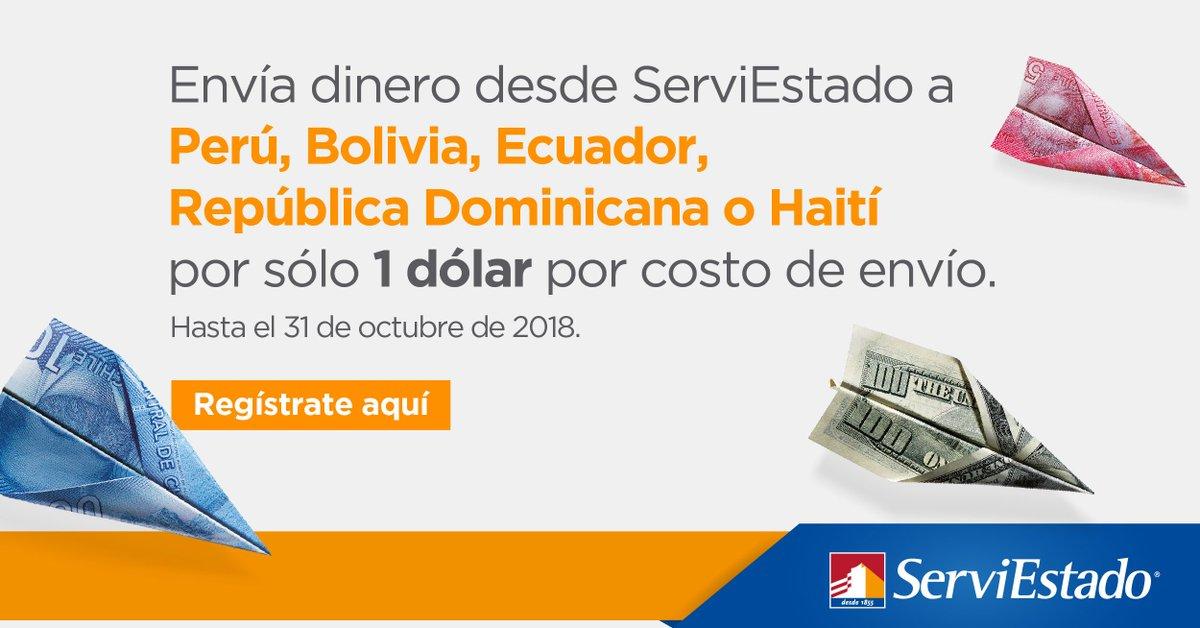 En Serviestado Paga Sólo 1 Dólar Por Costo De Envío A Perú Bolivia República Dominicana Y Haití Comparte Esta Info Https T Co Tk3zy