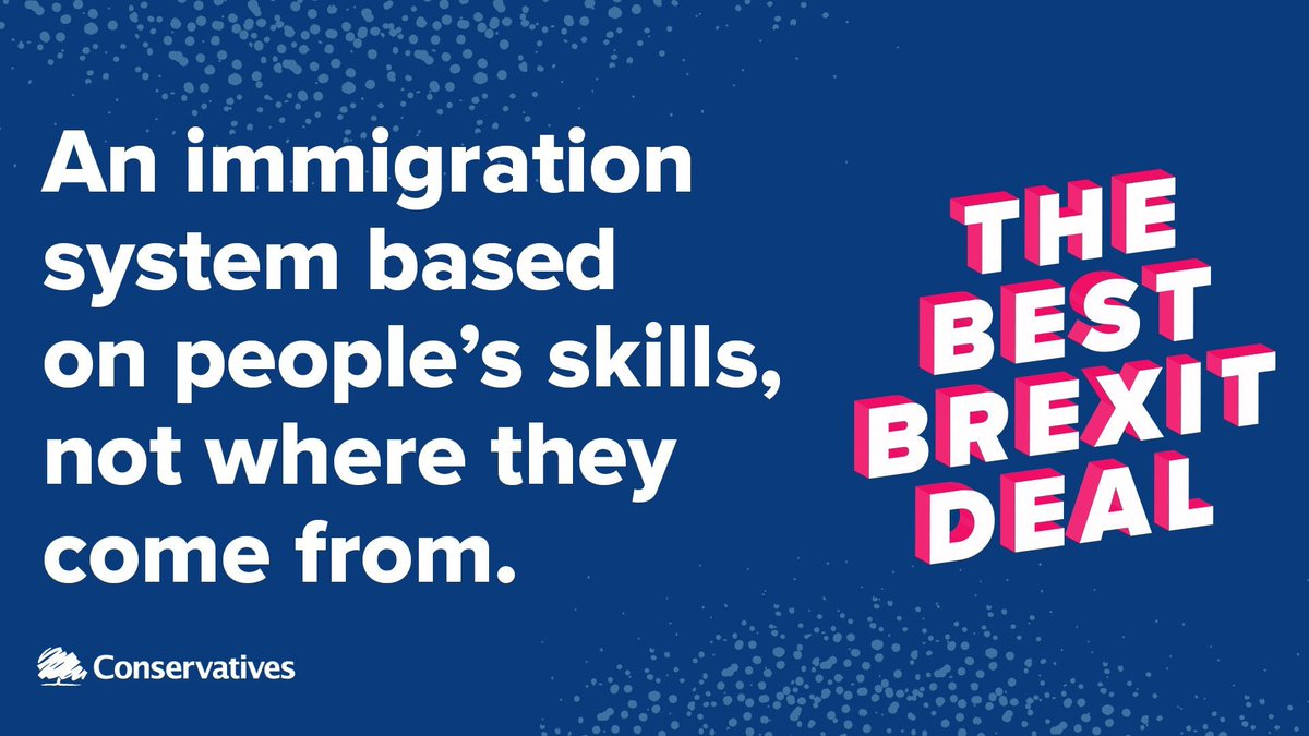 An immigration system based on people's skills, not where they come from.