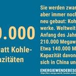 Weltweit sind nach wie vor hunderte Kohlekraftwerke im Bau. Wir in Deutschland müssen deshalb zeigen: Es geht auch ohne Kohle! Dafür ist ein schneller und geordneter Ausstieg so wichtig. Ob das klappt, entscheidet sich auch am #HambacherWald #energiewendebeschleunigen #kohlefrei