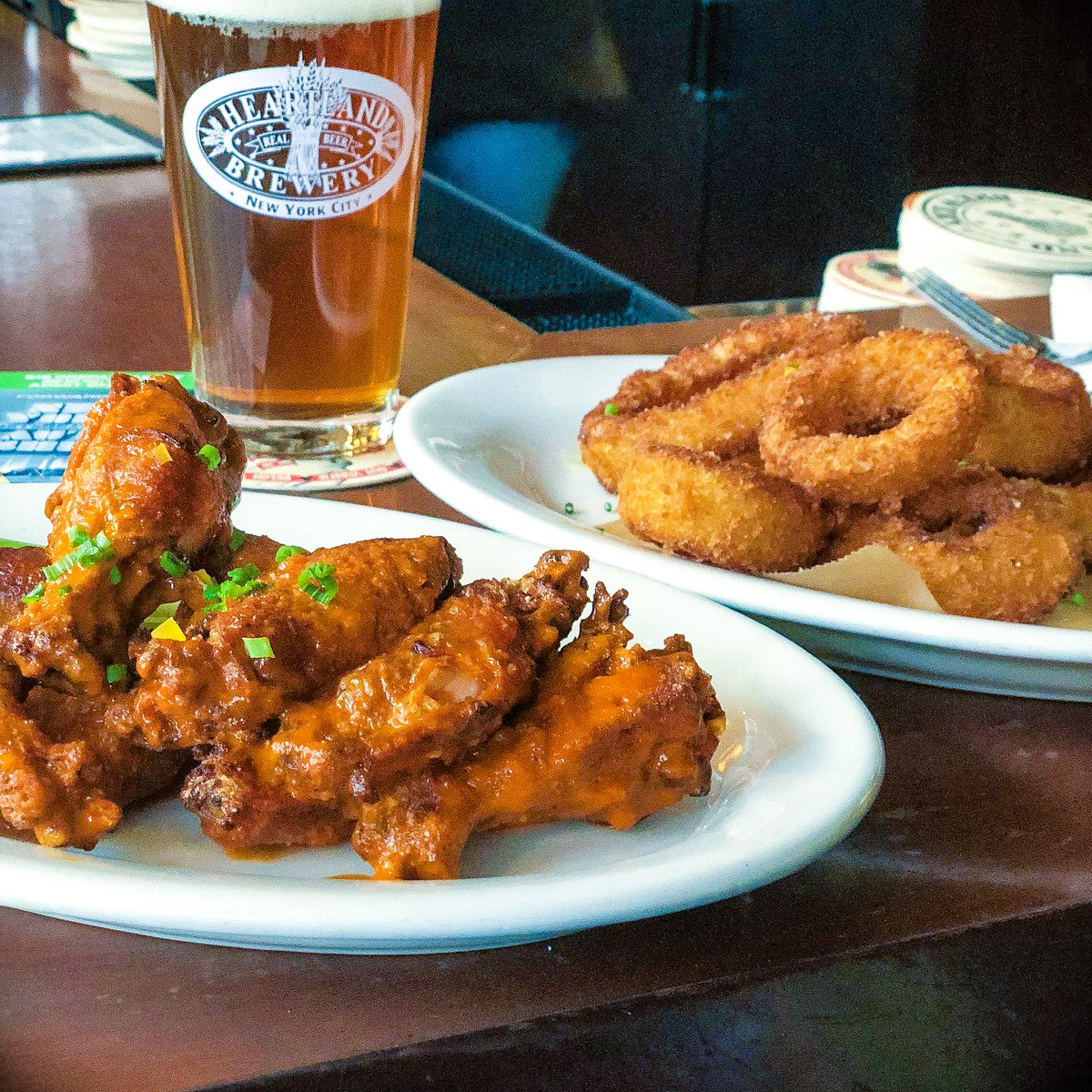 """Barporno heartland brewery on twitter: """"chicken wings never go out of"""