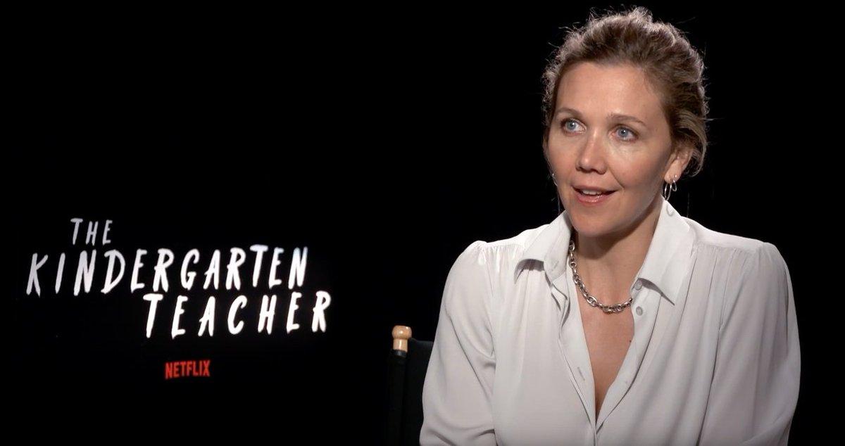 Former #MissUniverse 1978 Margaret Gardiner interviews Maggie Gyllenhaal about her role in @netflix film, The Kindergarten Teacher. https://t.co/YYXv8N42MJ
