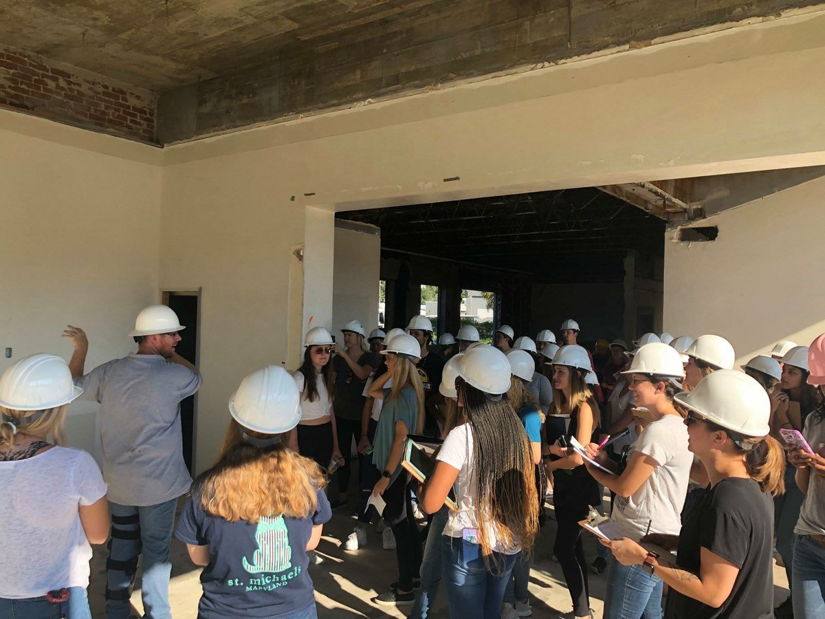 Proof Brewing Co On Twitter Students From Fsu Interior Architecture Design Program Recently Toured The Future Location Of Proof Brewing Co With Our Friends At Oliver Sperry Want To Know More About
