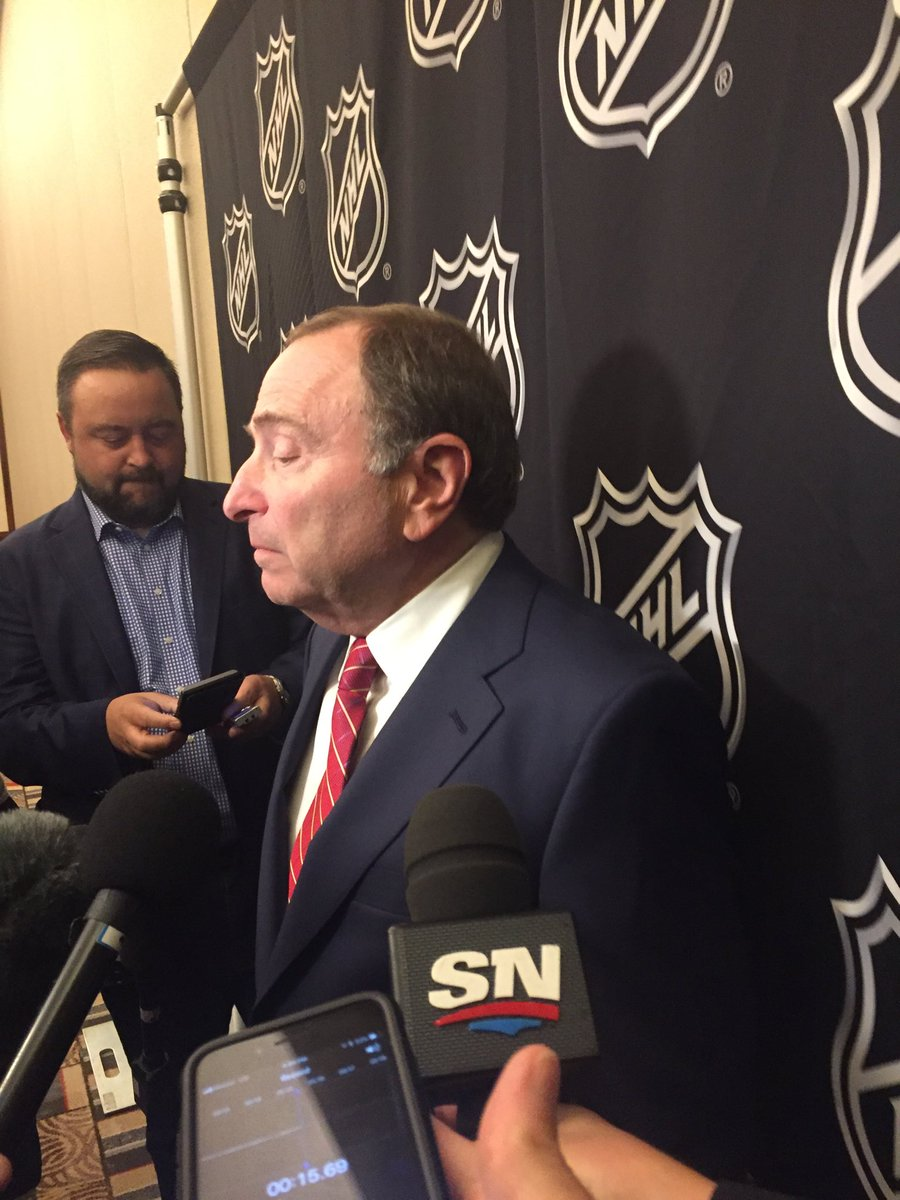 Gary Bettman says exec committee gave recommendation to board of governors to proceed with Seattle #NHL franchise