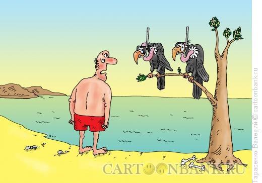 Карикатура Мёртвое море