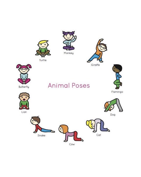 These are the Yoga poses for Miss Singleton's Monday after school club.   #YogaClub #AnimalPoses   #ActiveHealthyLifestyles  pic.twitter.com/jrJc1lFFVw