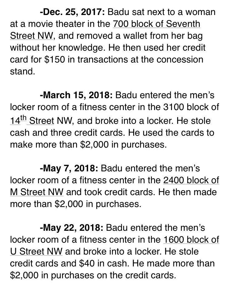 Badu Number 2018