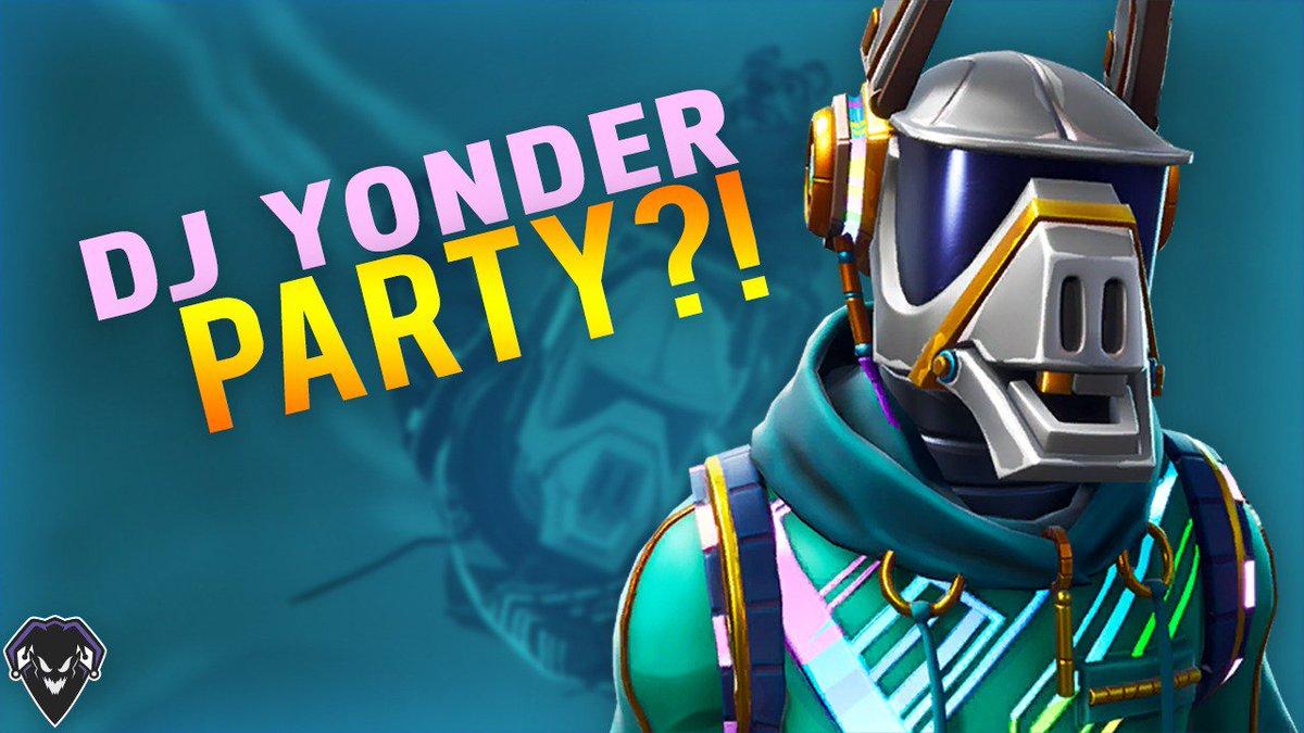 jairo urcuyo on twitter new video alert dj yonder party dj yonder party fortnite battle - dj yonder fortnite background