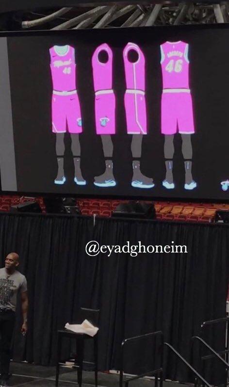New Miami Heat vice court jerseys leaked   nba 65f73fced