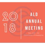 Image for the Tweet beginning: Registered for the #ALD #AMN