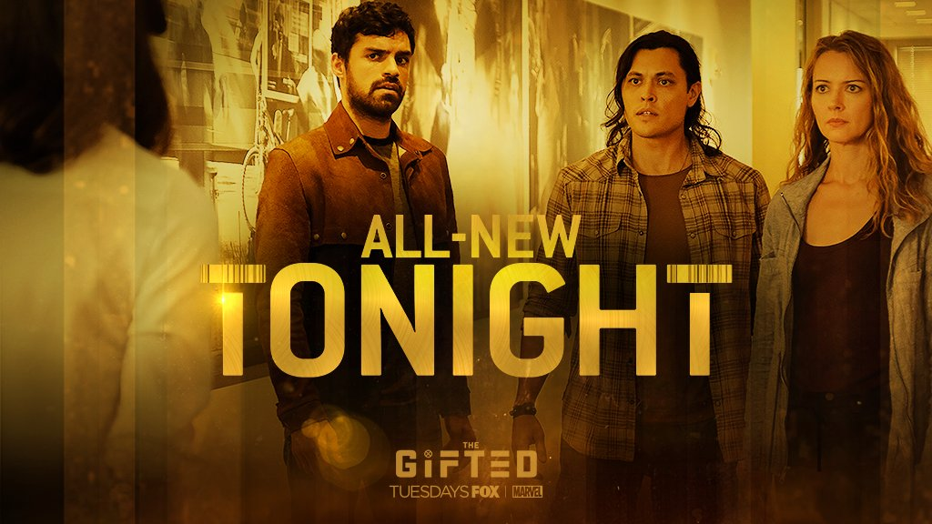 Don't miss the action-packed second episode of @TheGiftedonFOX starring @seanjteale tonight on @FOXTV at 8/7c #TheGifted #unMoored #eclipse