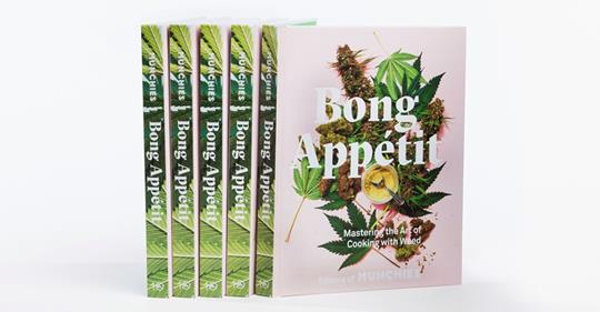 Bong Appétit, the newest cookbook from @munchies, is out now!   Get your copy here: https://t.co/627wz6qKiF https://t.co/7BH9NH884J