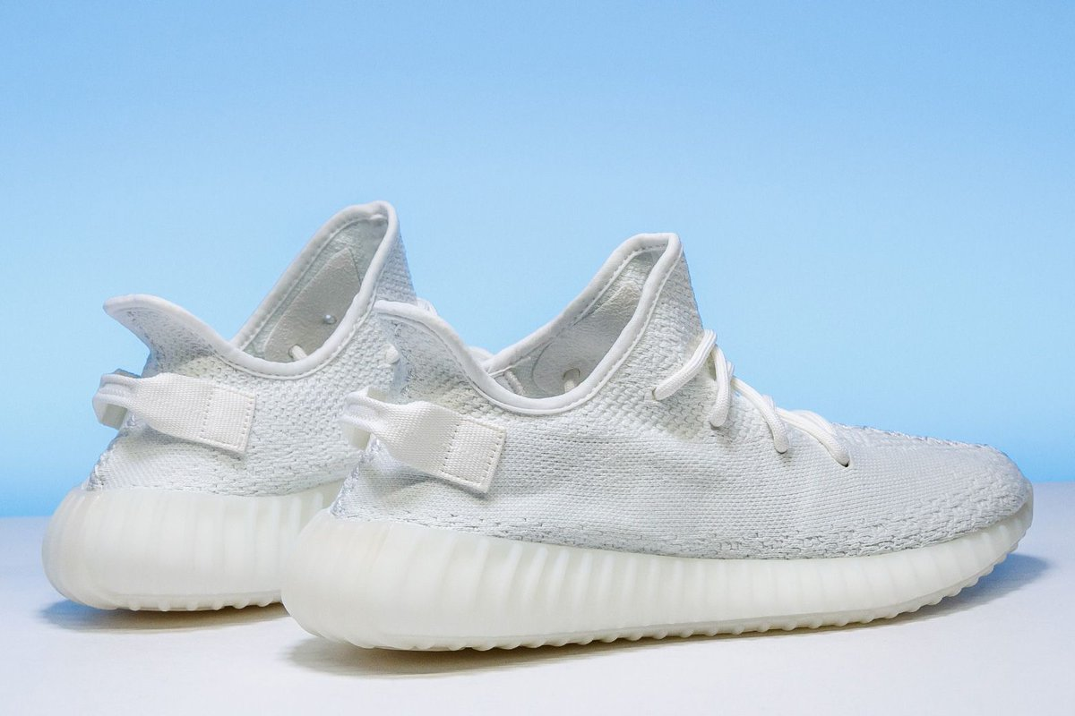 """No one guessed the release date of YANDHI correctly. However, we're still giving away a pair of the adidas Yeezy Boost 350 V2 """"Triple White!"""" RETWEET with your favorite @kanyewest track and US shoe size. A lucky follower will be randomly selected on Friday, Oct. 5th. Good Luck!"""