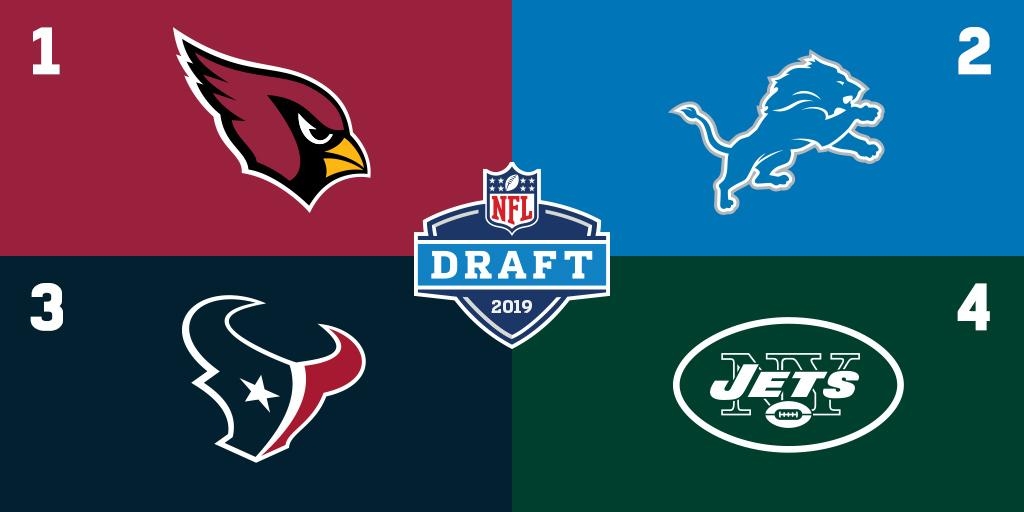Which pick does your team hold?  2019 @NFL Draft order through Week 4: https://t.co/c7FbLORU9m