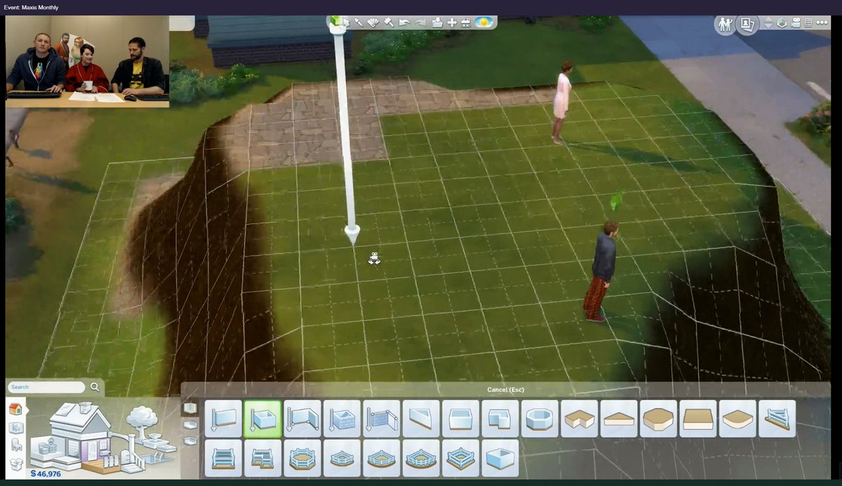 Update coming Nov 13th, 1st person view, Sims 4 terrain tools and new stylist career DohflQxX0AAMSPA