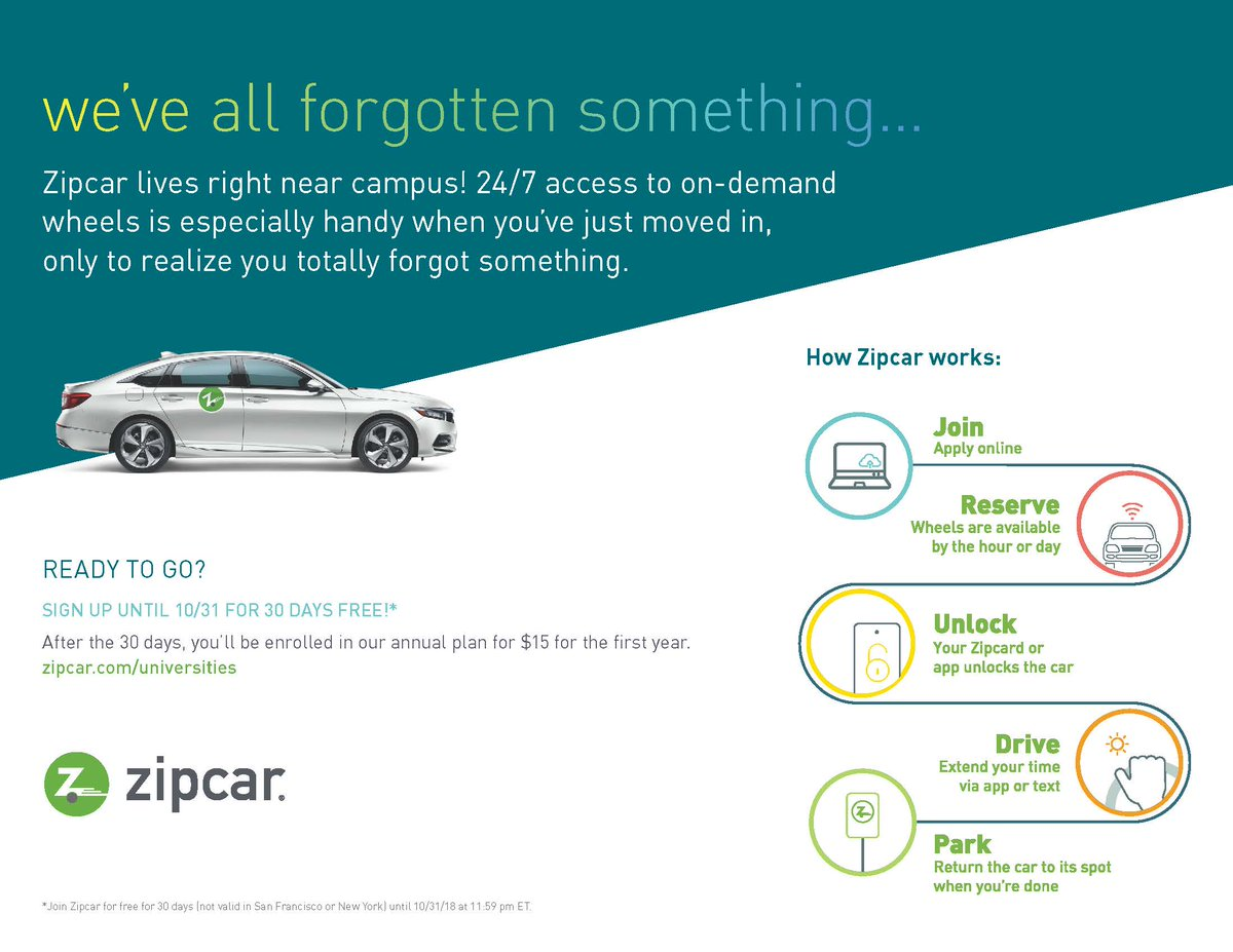 Cancel Zipcar Membership >> Ut Dallas Parking On Twitter We Re Excited To Announce