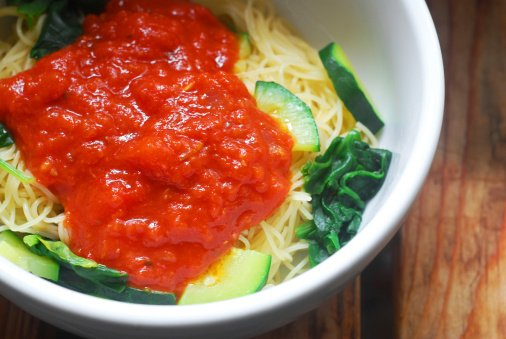 The perfect dish for the autumn season: Spaghetti Squash with Marinara. https://t.co/woo63ypSsl #recipe https://t.co/vge4kzBA6q