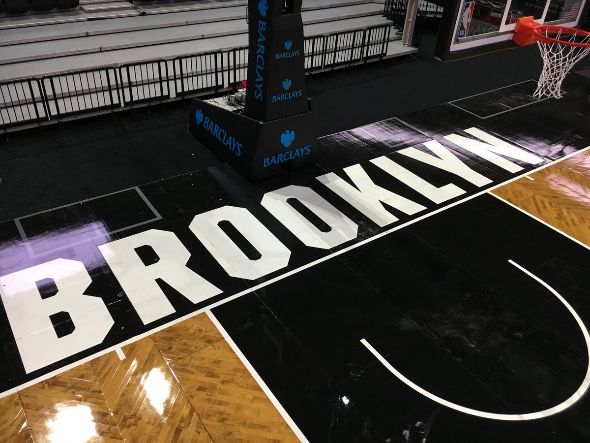 Brooklyn Nets New Court Brooklyn Nets Set For Season