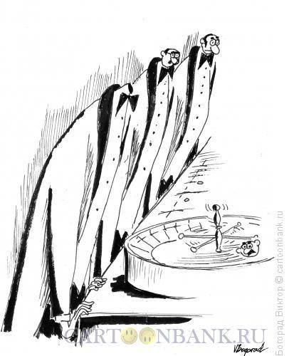 Карикатура Азарт