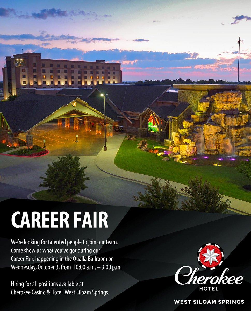 Siloam springs casino jobs craps gambling games