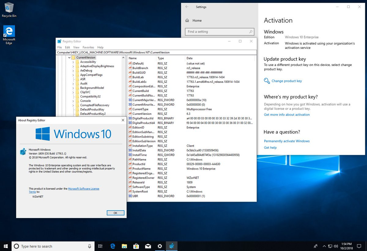 ключи для нод 32 10 версия до 2018 года