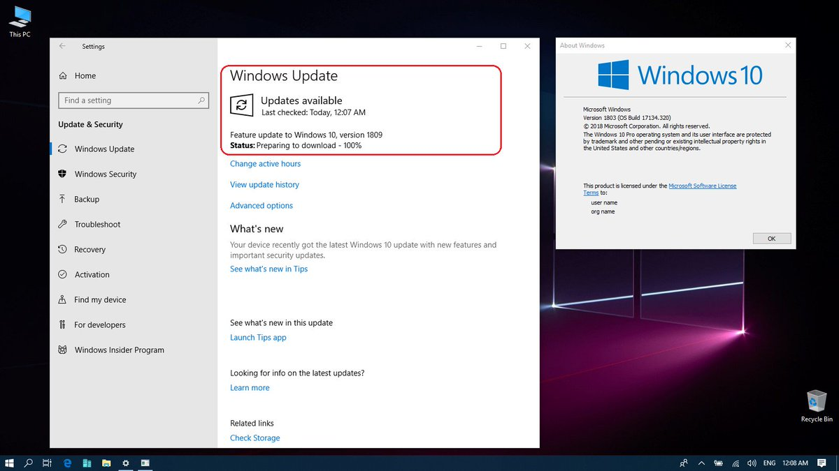 Windows 10 1809 Language Pack Download