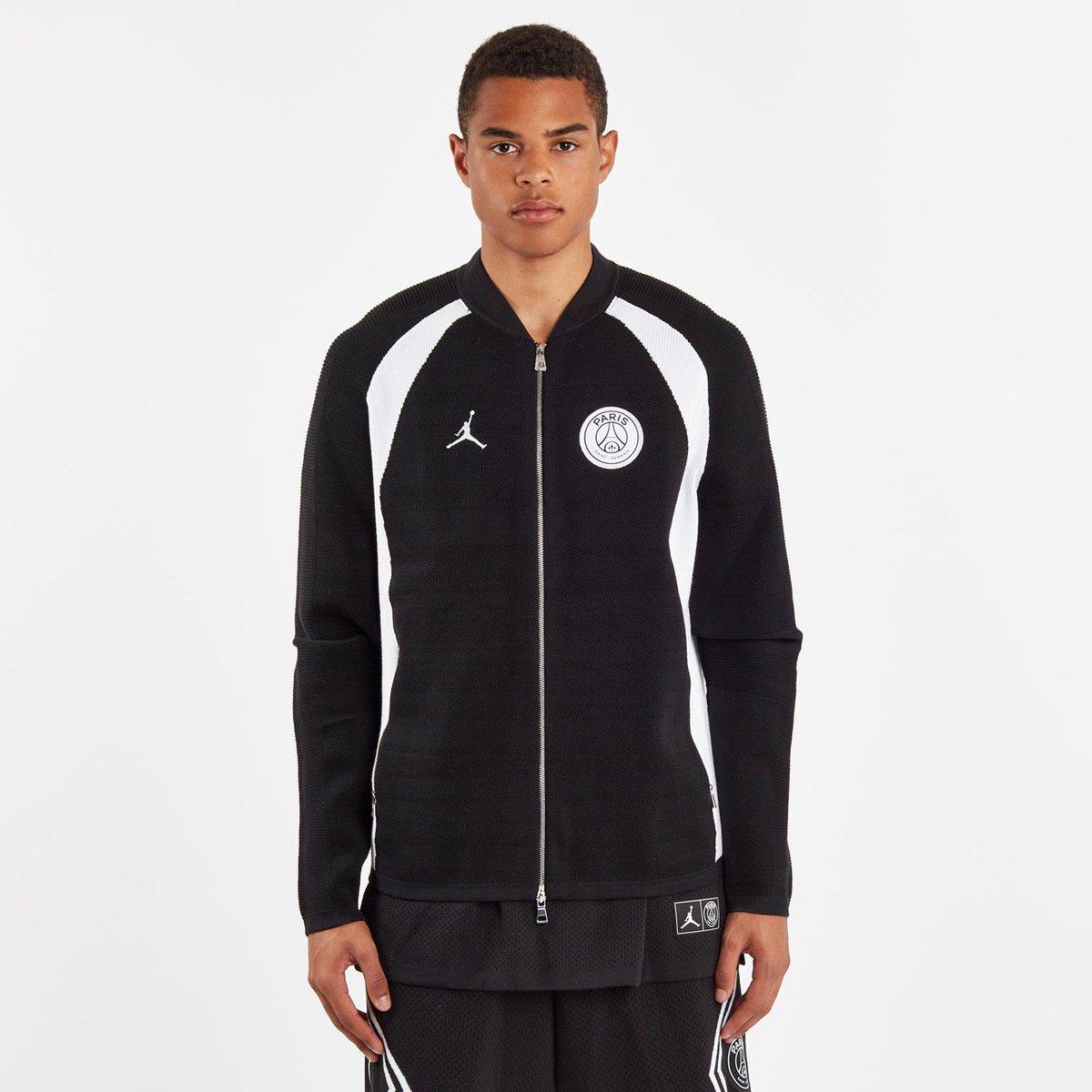 new style d8634 acc78  RESTOCK PSG x Jordan Flight Knit Full Zip Jacket    http   bit.ly 2N8dSF3  pic.twitter.com Nw03ajDust