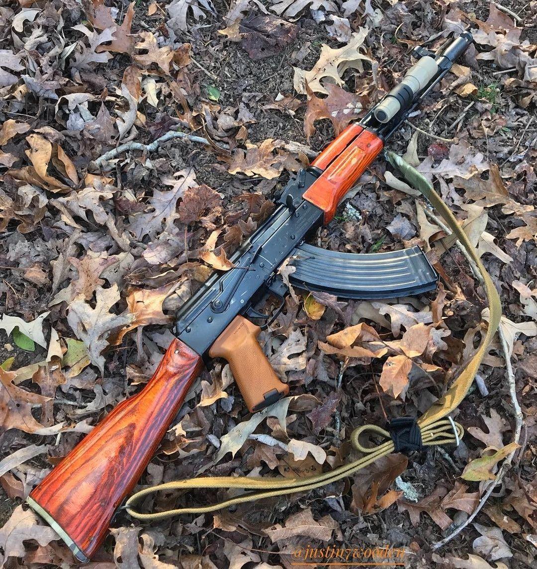 Don't forget to prepare your #AK for the autumn.🙂  #ak #ak47 #slr #ak74 #kalashnikov #kalashworld #avtomat #kalash_wood #gotwood #mags #steel #762 #ammo #weaponslife #firearms #instagun #gunz #gunsofinsta #3guns #545 #grips #pewpewlife  Credit to @justin7wooden