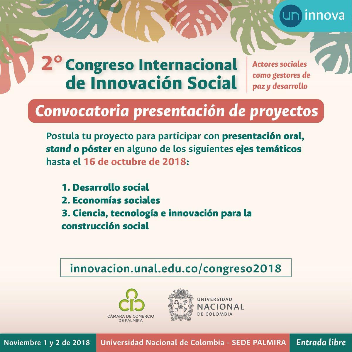 UN Innova - Universidad Nacional de Colombia (@UN_innova) | Twitter