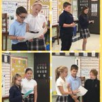 Image for the Tweet beginning: 4th graders continued to celebrate