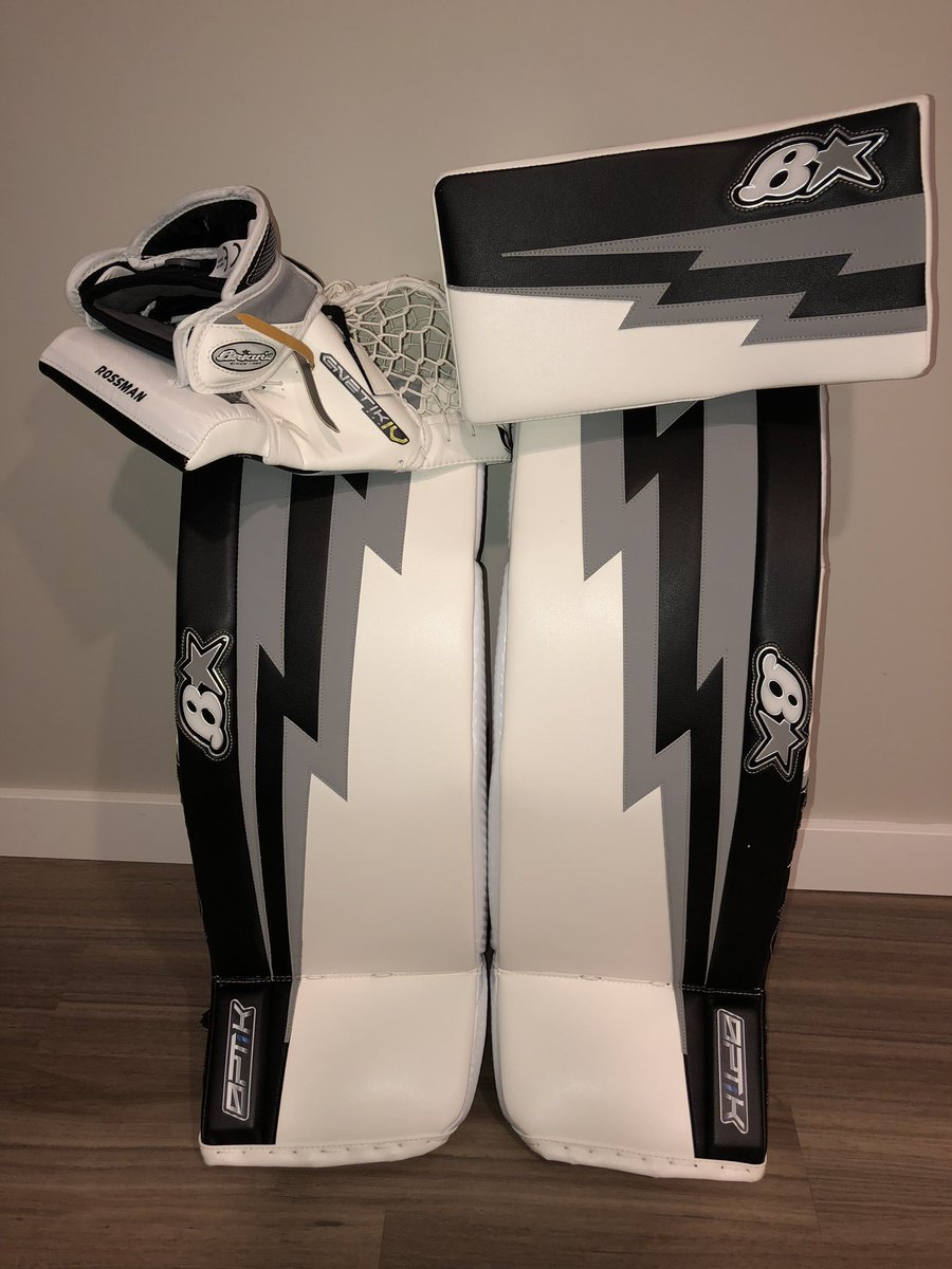 Thank you to @goaliesonly for this year's @WhitecapsHockey set up! Can't wait to get the season rolling this weekend with the caps! 👀 @MandyLeveille29 @JFriend1