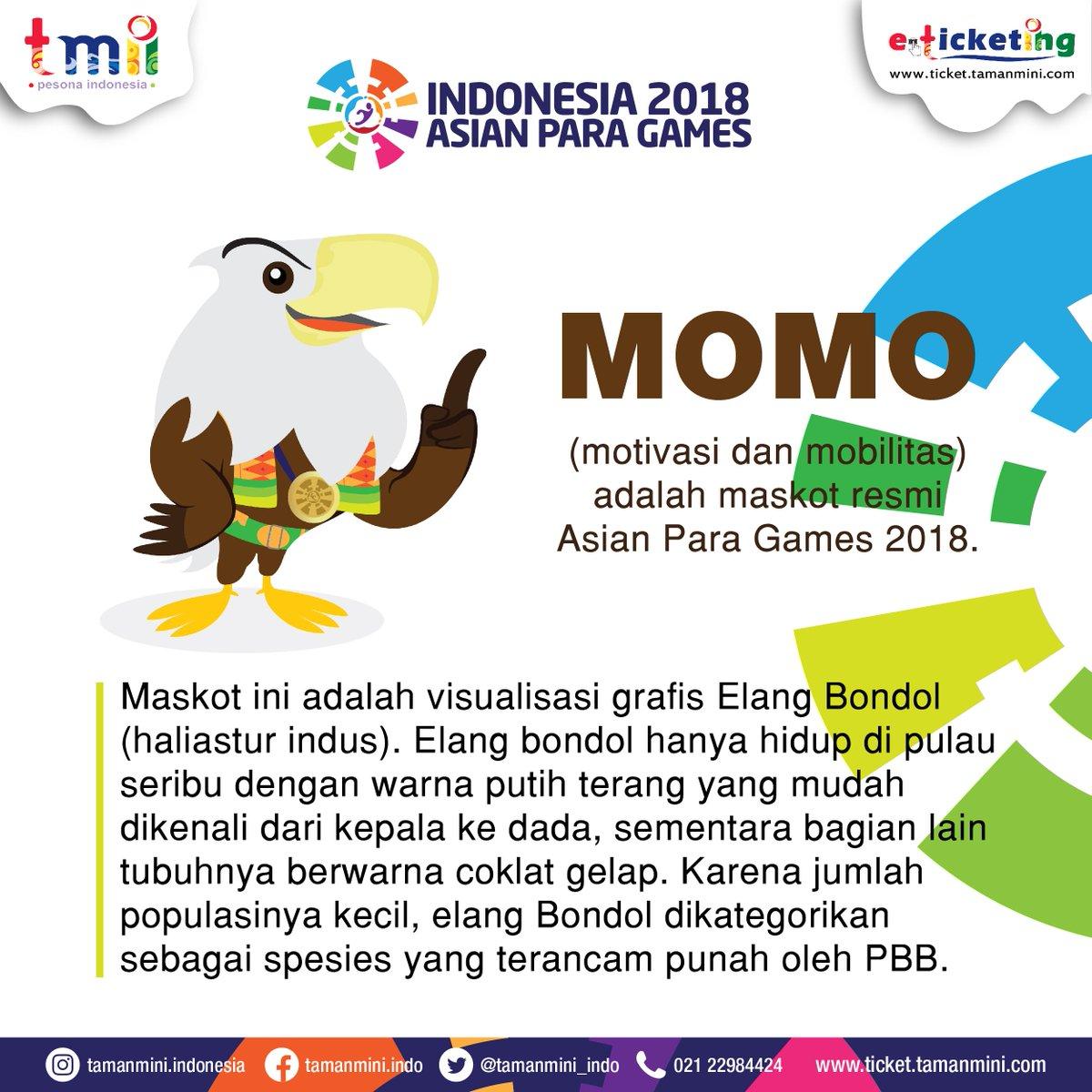 Kenalan Dengan MOMO Maskot ASIAN PARA GAMES 2018