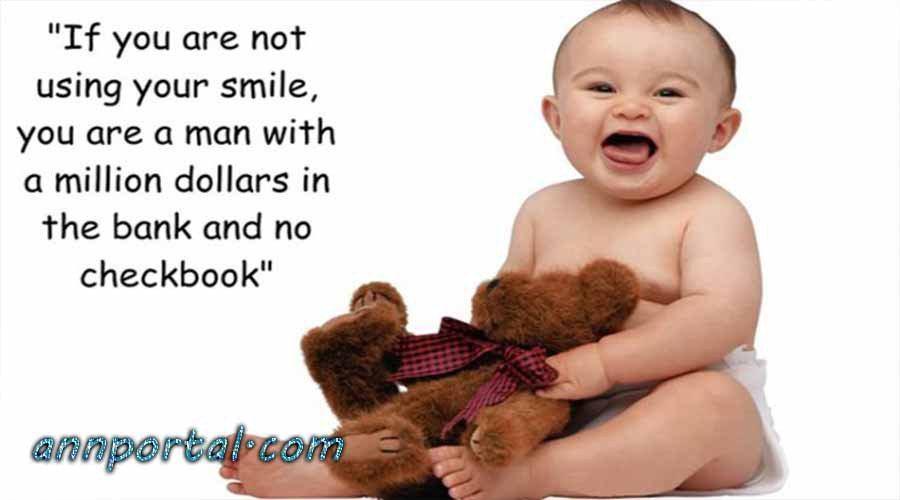 Cute Baby Smile Quotes And Sayings With Pictures Tweet Added By