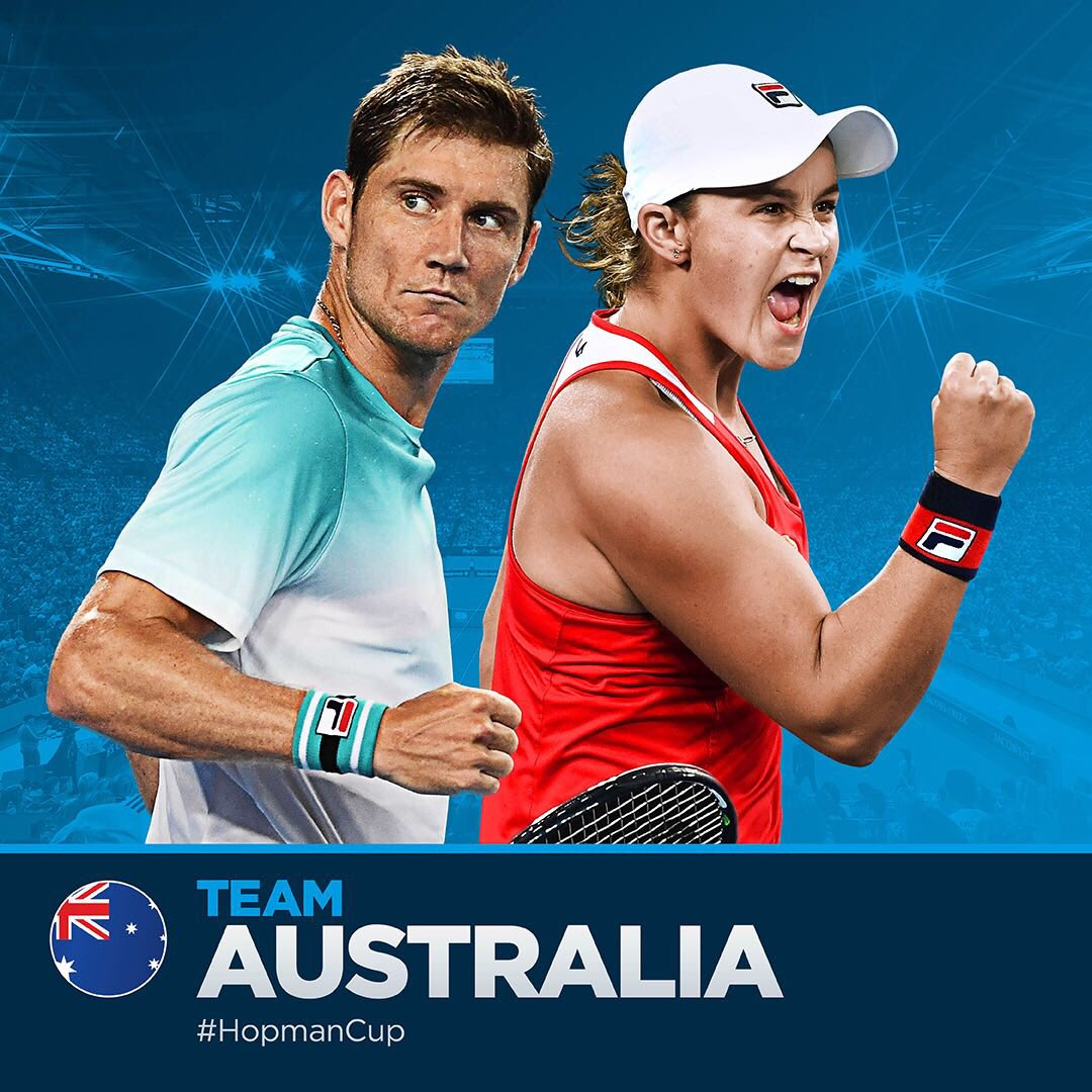 So excited to be heading back to #Perth to play @hopmancup with @mattebden #TeamAustralia #HopmanCup 🎾🇦🇺