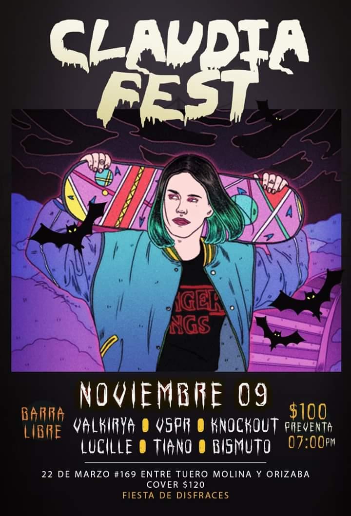 Allá nos vemos gente! Veracruz en #OctoberFest este 9 de Noviembre en punto de las 7:00 pm UNICA FECHA ✘✘✘ #Halloween #Rock #Disfraz #Bismuto ★    DISFRAZ OBLIGATORIO    ★ https://t.co/fGM3WOCmxN