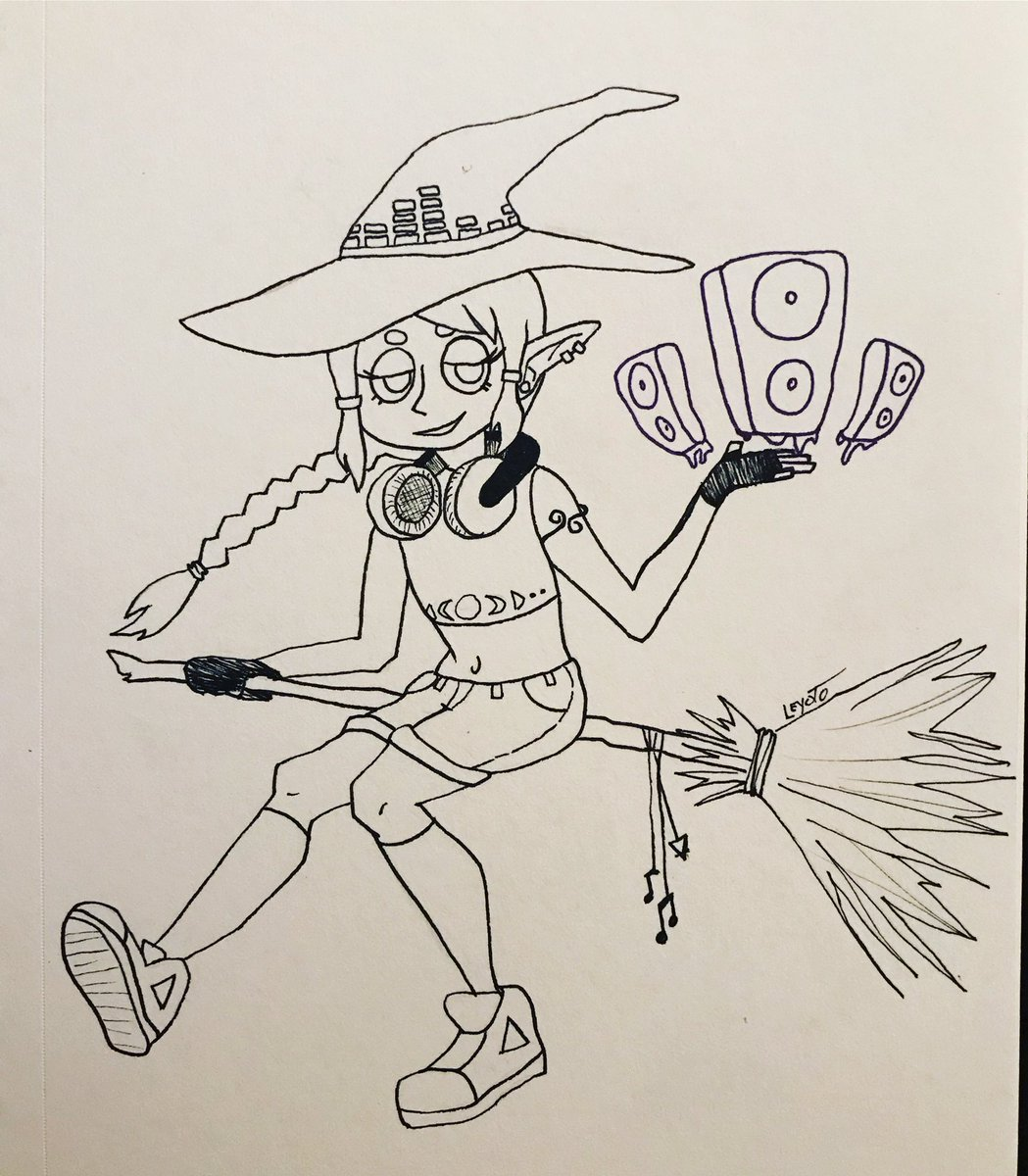 #inktober day 2! I had to tell myself to just stop before I ruined the entire picture