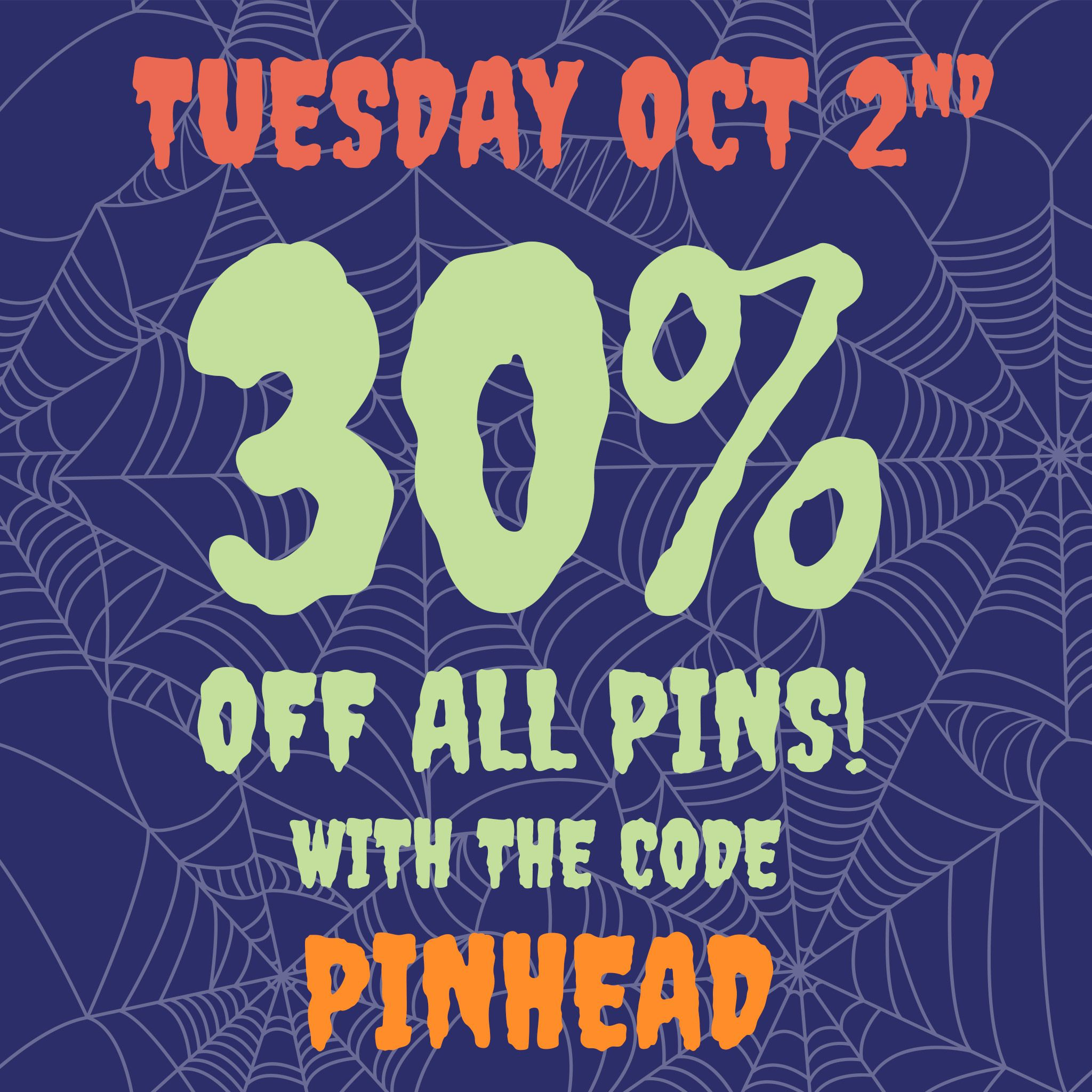The Yetee On Twitter Last Chance You Ve Only Got One Hour Left To Use Today S Coupon Code Pinhead To Snag Some Pins For 30 Off And If You Thought This Discount Huge savings are available by using the yetee coupons, the yetee promo codes. twitter