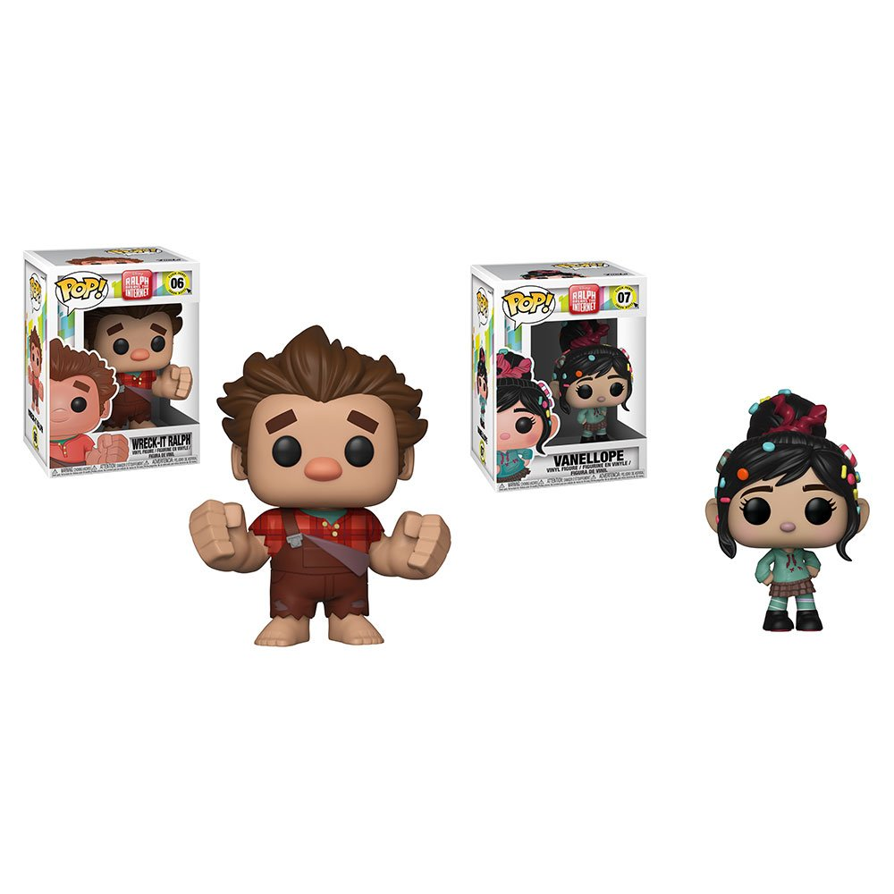 RT & follow @OriginalFunko for the chance to win a Wreck-It Ralph and Vanellope Pop! prize pack!